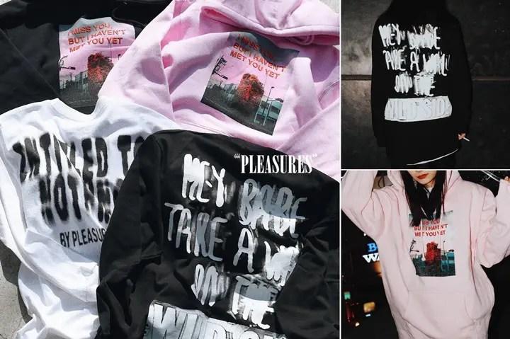 "PLEASURES × NUBIAN EXCLUSIVE COLLECTION ""HOODIE""""L/S TEE""が原宿店/オンラインにて発売 (プレジャーズ ヌビアン)"