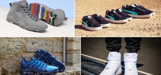"【まとめ】1/27発売の厳選スニーカー!(NIKE AIR JORDAN 10 RETRO ""Cool Grey"")(AIR VAPORMAX PLUS)(DIAMOND SUPPLY CO. PUMA SUEDE Classic/CLYDE)(AIR FORCE 1 HIGH 07 ""Triple Black/White"")他"