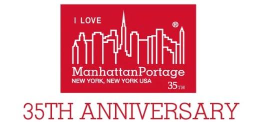 Manhattan Portage ブランド生誕35周年!2018年のシーズンリミテッドアイテムには、スカイラインロゴに「I LOVE」「35 TH」 を加えた特別仕様のラベルを採用 (マンハッタンポーテージ)