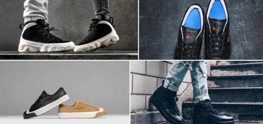 "【まとめ】2/3発売の厳選スニーカー!(NIKE AIR JORDAN 9 RETRO ""City Of Flight"")(AIR FORCE 1 FOAMPOSITE CUPSOLE ""Triple Black"")(VAINL ARCHIVE connected REEBOK CLASSIC)(BORN x RAISED × CONVERSE JACK PURCELL)他"
