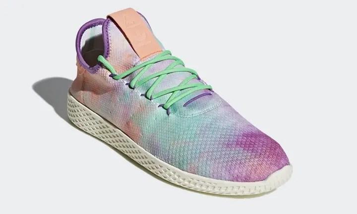 """3/2発売予定!Pharrell Williams x adidas Originals Human Race Tennis HU Holi """"Pink Glow"""" (ファレル・ウィリアムス アディダス オリジナルス ヒューマン レース テニス ホーリー """"ピンク グロー"""") [AC7366]"""