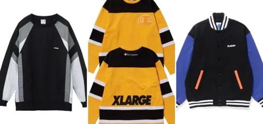 【Champion コラボ】XLARGE/X-girl コラボ/レギュラーアイテムが2/9から発売! (エクストララージ エックスガール)