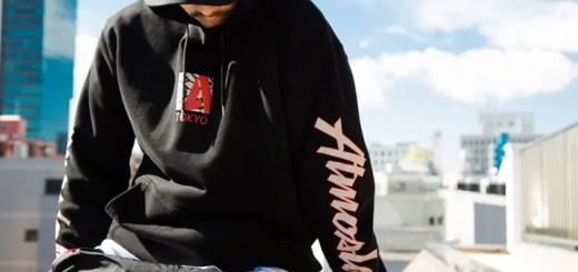"NIKE AJ3 OG ""Black Cement""にインスピレーションを受けたATMOSLAB CEMENT TOKYO HOODIE/LS TEEが2/17発売 (アトモスラボ セメント)"