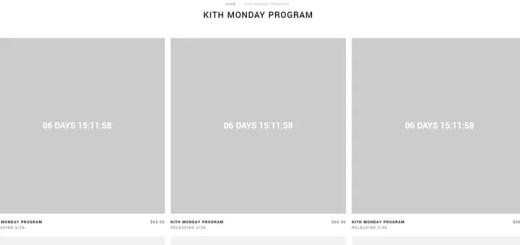 KITH MONDAY PROGRAM 2018年 第9弾が海外2/26発売予定! (キス)