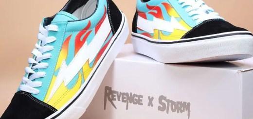 ターコイズ/フレイムカラーの カラーのRevenge × Storm (リベンジ x ストーム)