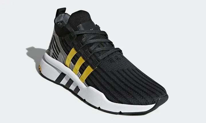 """adidas Originals EQT BASK ADV """"Black/Yellow"""" (アディダス オリジナルス エキップメント バスク ADV """"ブラック/イエロー"""") [CQ2999]"""