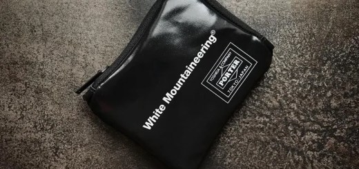 "White Mountaineering × PORTER 2018 S/S Wallet ""Black"" (ホワイト マウンテニアリング ポーター)"
