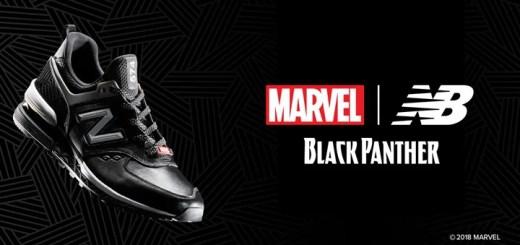 New BalanceからMARVEL最新作「ブラックパンサーをイメージした「574S」が限定で登場 (ニューバランス)