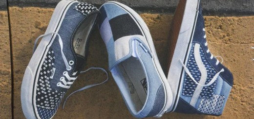 "VANS ""Denim Patchwork"" Sk8-Hi/Slip-On/AUTHENTIC (バンズ ""デニム パッチワーク"")"