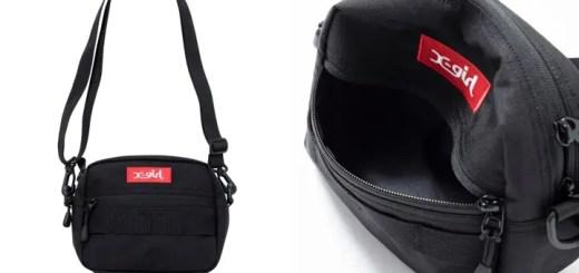 X-girl BOX LOGO SHOULDER BAGが5月上旬発売 (エックスガール)