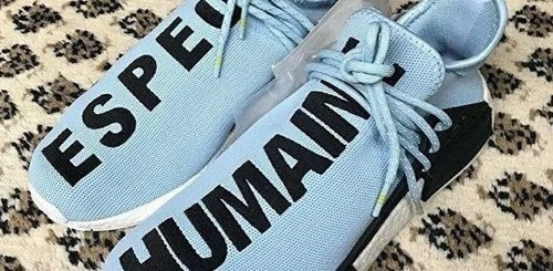 """【リーク/ブルーカラー】Pharrell Williams x adidas Originals NMD TRAIL """"HUMAN RACE"""" """"ESPECE/HUMAINE"""" (ファレル・ウィリアムス アディダス オリジナルス エヌ エム ディー トレイル """"ヒューマン レース"""" 2018)"""