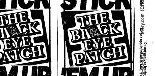 東京を拠点とするステッカー軍団「Black Eye Patch」が3/17~4/6までDSMGにてPOP UP SPACEがオープン (ブラック アイ パッチ)