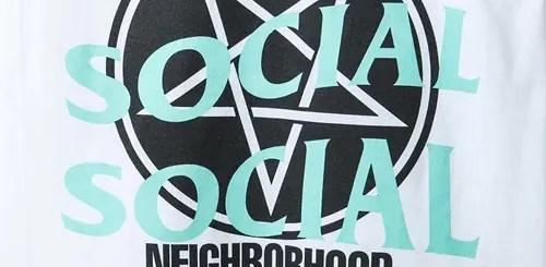 Anti Social Social Club × NEIGHBORHOOD コラボレーションが3/17発売 (アンチ ソーシャル ソーシャル クラブ ネイバーフッド)