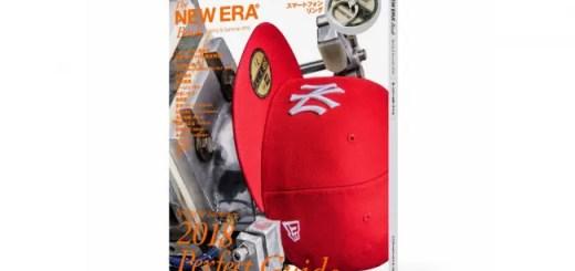 ロゴ入り特製スマートフォンリングがが付録!The New Era Book Spring & Summer 2018 が3/16から発売 (ニューエラ)