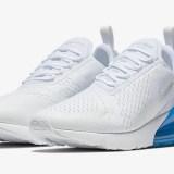 """【オフィシャルイメージ】3/26発売予定!ナイキ エア マックス 270 """"ホワイト/フォト ブルー"""" (NIKE AIR MAX 270 """"White/Photo Blue"""") [AH8050-105]"""