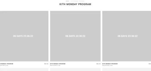 KITH MONDAY PROGRAM 2018年 第13弾が海外3/26発売予定 (キス)