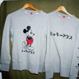 ミッキーマウスがデザインされたLOOPWHEELER × BEAMS JAPAN コラボスウェットが発売 (ループウィラー ビームス ジャパン)