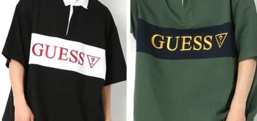 web限定!ビッグボディに刺繍を施したGUESS × FREAK'S STORE 別注!スーパービッグラガーシャツが5月下旬発売 (ゲス フリークスストア)