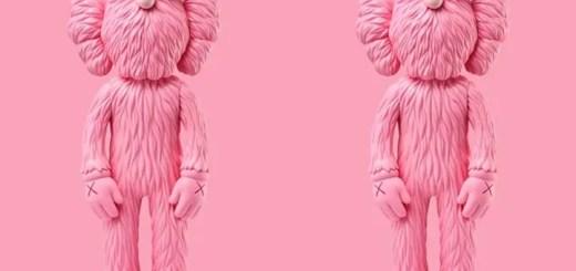 ピンクカラーのKAWS BBFが3/27にKAWSONE.comにてリリース (カウズ BBF Pink)