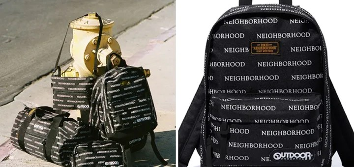 NEIGHBORHOOD × OUTDOOR PRODUCTS コラボバッグコレクションが4/4展開 (ネイバーフッド アウトドアプロダクツ)