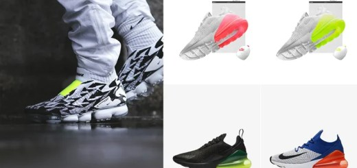 "【まとめ】3/26発売の厳選スニーカー!(ACRONYM NIKE AIR VAPORMAX FLYKNIT MOC 2)(AIR MAX 270 ""White & Black"")(AIR MAX 270 FLYKNIT ""White/Racer Blue"")"