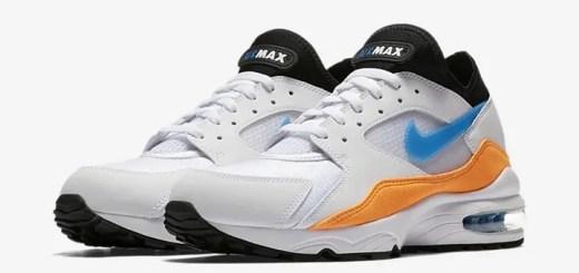 """【オフィシャルイメージ】6月発売予定!ナイキ エア マックス 93 """"ホワイト/ブルー ネビュラ"""" (NIKE AIR MAX 93 """"White/Blue Nebula"""") [306551-104]"""
