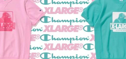XLARGE × Champion 2018 S/S コラボが3/30発売! (エクストララージ チャンピオン)