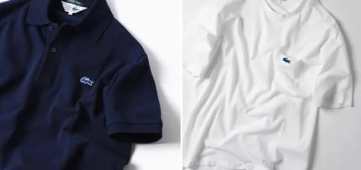 LACOSTE × SHIPS 仕様の台形青ワニも健在!別注 ポロシャツ/ポケットTEEが5月上旬発売 (ラコステ シップス)