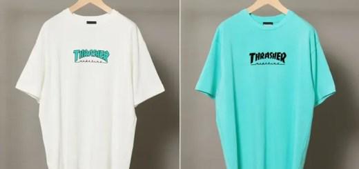 BEAUTY&YOUTH × THRASHER 別注!LOGO TEE 3カラーが4月中旬発売 (ビューティアンドユース スラッシャー)