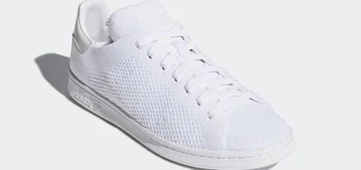 """4/19発売!adidas Originals STAN SMITH PRIMEKNIT 2 {PK2} """"Running White"""" (アディダス オリジナルス スタンスミス プライムニット 2 """"ランニング ホワイト"""") [CQ3032]"""
