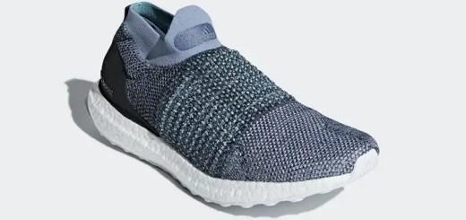 """4/27発売予定!Parley for the Oceans × adidas ULTRA BOOST LACELESS """"Carbon/Blue Spirit"""" (パーレイ・フォー・ジ・オーシャンズ アディダス ウルトラ ブースト レースレス """"カーボン/ブルー スピリット"""") [CM8271]"""