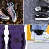 "【まとめ】4/20発売の厳選スニーカー!(NIKE AIR MAX 95 ESSENTIAL ""Desert Sand/Sunset Tint"")(AIR MORE MONEY ""Court Purple"")(RHC ロンハーマン × CONVERSE ALL STAR 100 OX)(WMNS CORTEZ BASIC JEWEL 18)他"