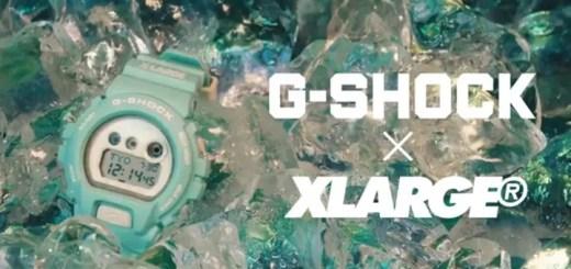 5/3発売!G-SHOCK × XLARGE GD-X6900 (ジーショック エクストララージ)