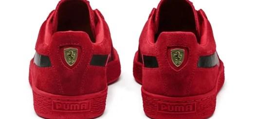 6/7発売予定!Ferrari × PUMA SUEDE (フェラーリ プーマ スエード) [306134-01]