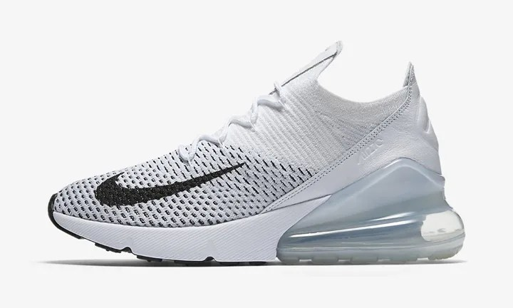 Wmns Air Max 270 Flyknit 'White'