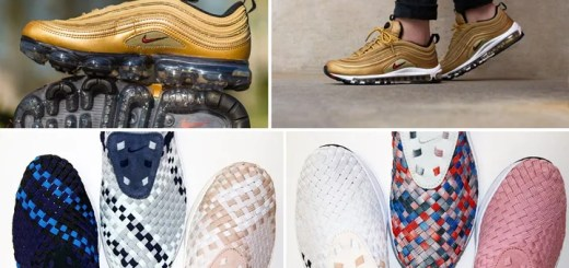 "【まとめ】5/17発売の厳選スニーカー!(NIKE AIR VAPORMAX 97/AIR MAX 97 OG QS ""Metallic Gold"")(AIR VAPORMAX 2.0 FLYKNIT ""Black/Team Red"")(AIR WOVEN)他"