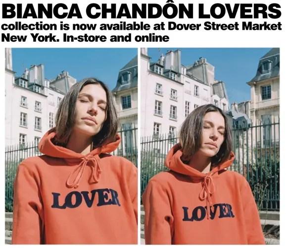 """Bianca Chandon """"LOVERS COLLECTION"""" (ビアンカ・シャンドン """"ラヴァーズ コレクション"""")"""