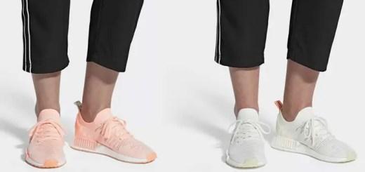 """6/1発売予定!adidas Originals WMNS NMD_R1 STLT PRIMEKNIT {PK} """"Clear Orange/White"""" (アディダス オリジナルス ウィメンズ エヌ エム ディー プライムニット """"クリア オレンジ/ホワイト"""") [AQ1119][B37655]"""