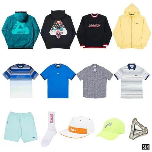 Palace Skateboards 2018 SUMMMER 4th Dropが5/25展開 (パレス 2018 夏)