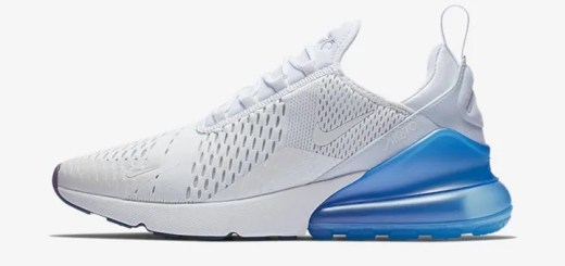 """【オフィシャルイメージ】ナイキ エア マックス 270 """"ホワイト/フォト ブルー"""" (NIKE AIR MAX 270 """"White/Photo Blue"""") [AQ7982-100]"""