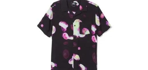 STUSSYから、クラゲモチーフの幻想的なグラフィックを滑らかなレーヨン地にプリントしたオープンカラーシャツなどの新作が発売 (ステューシー)