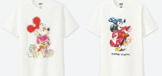 UNIQLOから、6人の著名なアーティストが表現した特別なミッキーコレクション「ミッキー アート」が6/4発売 (ユニクロ ミッキー)