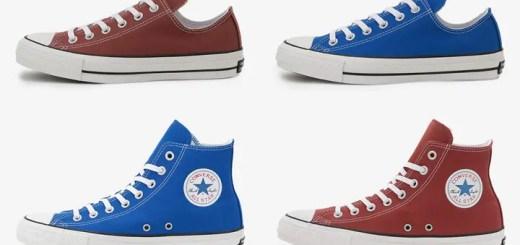 CONVERSE ALL STAR 100 COLORS OX/HI に新色「ブルー/ブリックレッド」が登場 (コンバース オールスター)