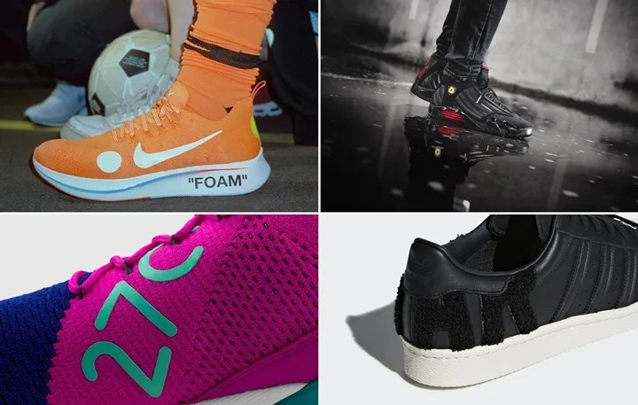 "【まとめ】6/14発売の厳選スニーカー!(NIKE  x OFF-WHITE ""Mon Amour"" ZOOM FLY MERCURIAL FLYKNIT)(AIR JORDAN 14 ""LAST SHOT"")(AIR MAX 270 FLYKINIT ""Fuchsia Flash"")(adidas Originals SUPERSTAR 80s)他"