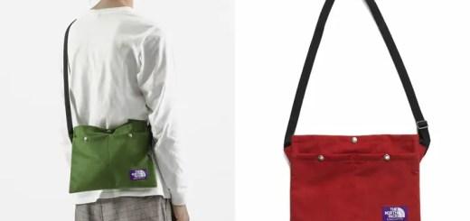 """軽量のマイクロスエードを使ったTHE NORTH FACE PURPLE LABEL """"Suede Shoulder Bag S"""" (ザ・ノース・フェイス パープルレーベル)"""