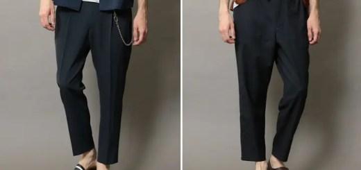 BEAUTY&YOUTH 適度なテーパードラインとアンクル丈により脚がすっきりと見えるパンツ2型が7月中旬~発売 (ビューティアンドユース)