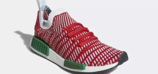 """adidas Originals NMD_R1 STLT PRIMEKNIT {PK} """"Collegiate Red/Cloud White"""" (アディダス オリジナルス エヌ エム ディー プライムニット """"カレッジ レッド/クラウド ホワイト"""") [D96820]"""