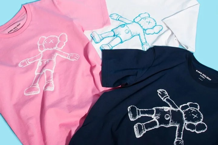 「KAWS:HOLIDAY」と命名された新しいプロジェクトにて、TEE/フィギュア/タオルなどが海外で7/19発売 (カウズ ホリデー)