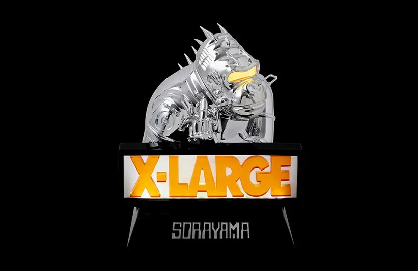 HAJIME SORAYAMA × XLARGE ComplexCon 2018アイテムが2019/2/2発売 (空山 基 エクストララージ)