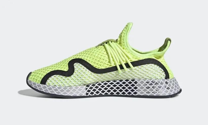 "adidas Originals DEERUPT RUNNER S ""Yellow/Black"" (アディダス オリジナルス ディーラプト ランナー S ""イエロー/ブラック"") [BD7881]"